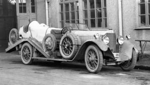 1924 Mercedes-Benz Typ 15/70/100 PS Renntransporter